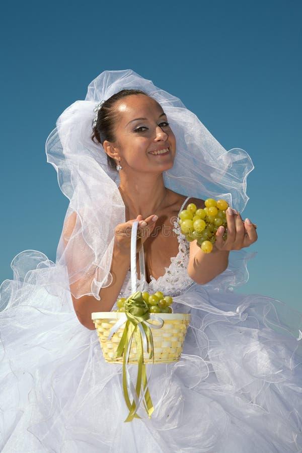 виноградины невесты стоковые изображения