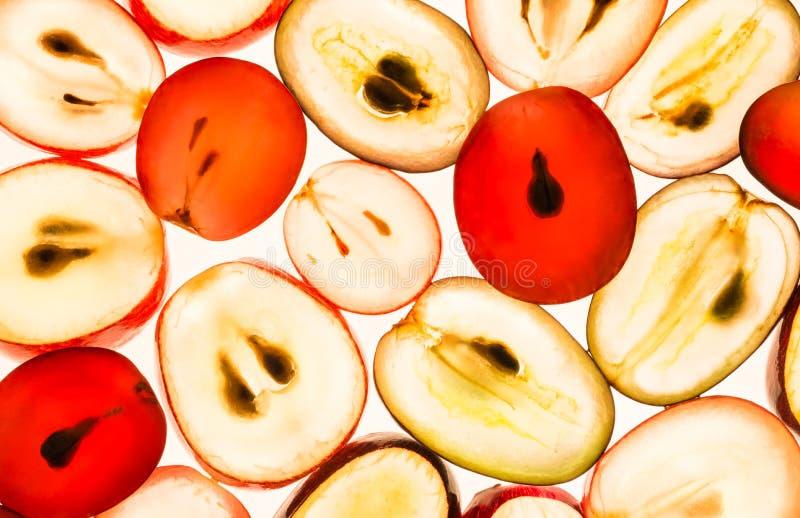виноградины предпосылки белые стоковое фото rf