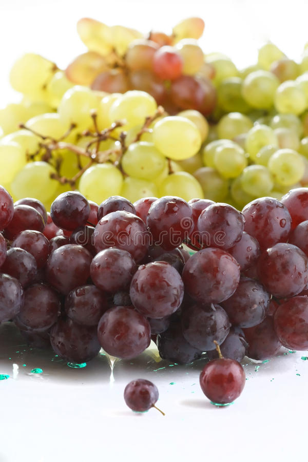 виноградины пука свежие стоковая фотография