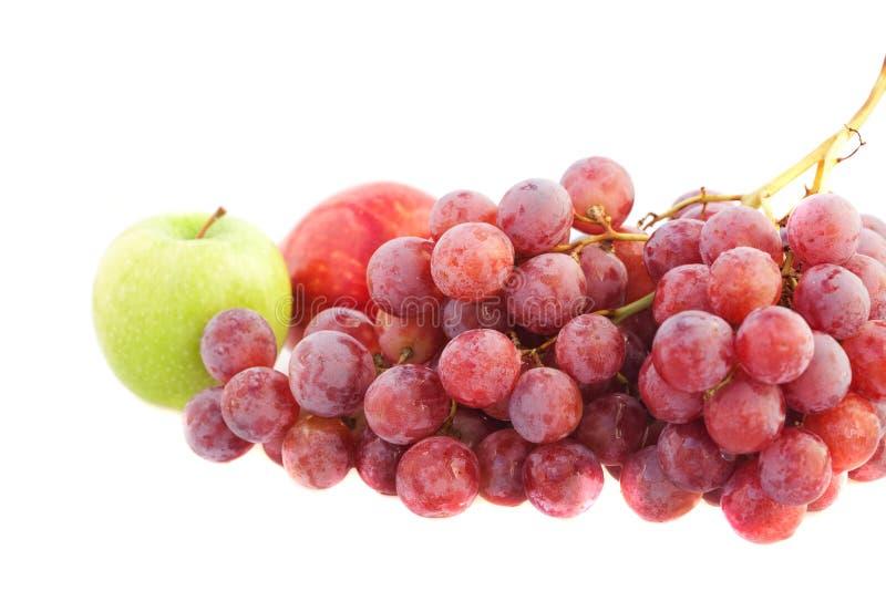 виноградины яблок стоковое фото rf