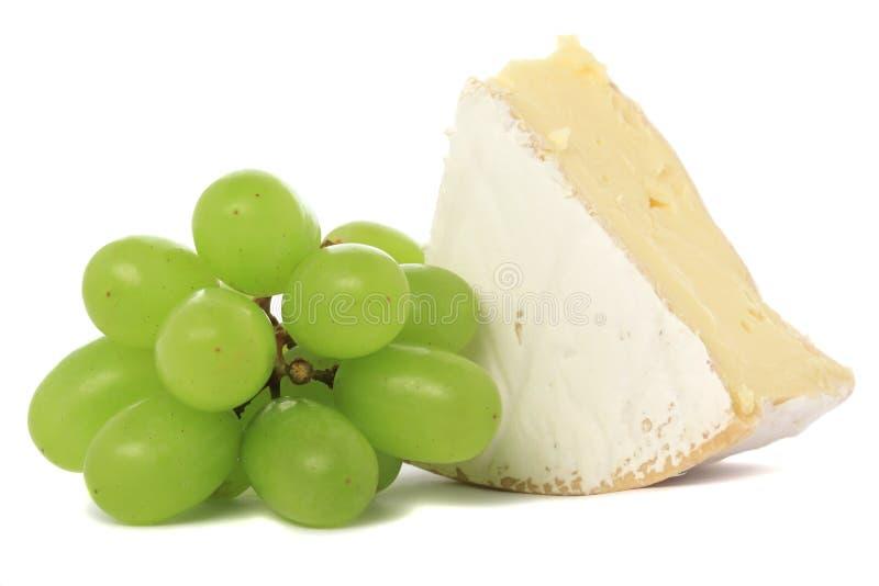 виноградины camembert стоковое фото