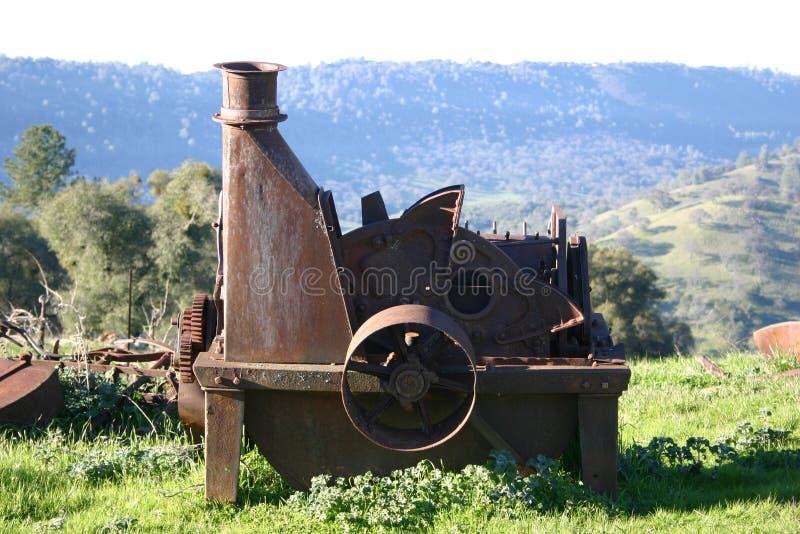 виноградник оборудования стоковое изображение