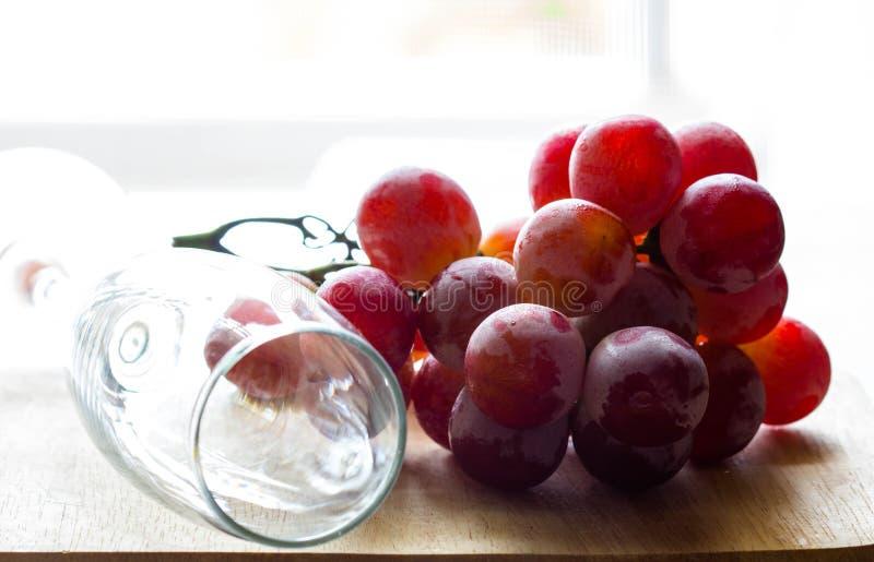 виноградины красные стоковая фотография rf