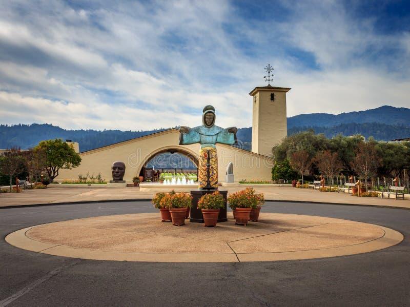 Винодельня Napa Роберт Mondavi, Калифорния стоковая фотография