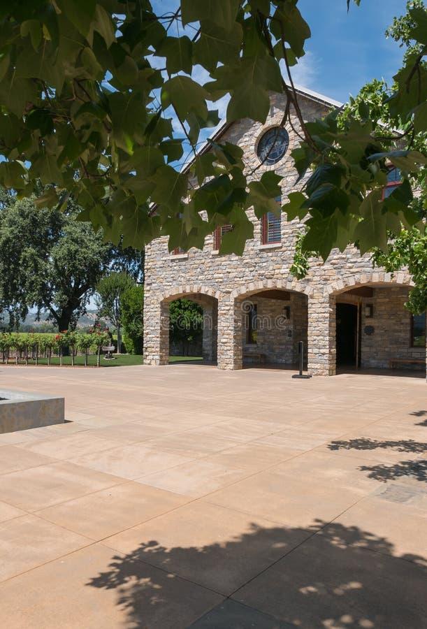 Винодельня Napa Valley стоковые фотографии rf