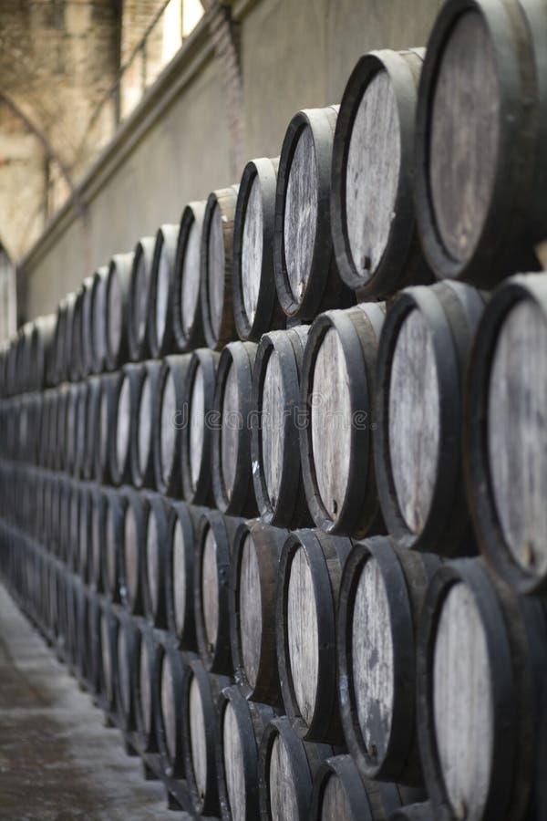 вино бочонков стоковое фото rf
