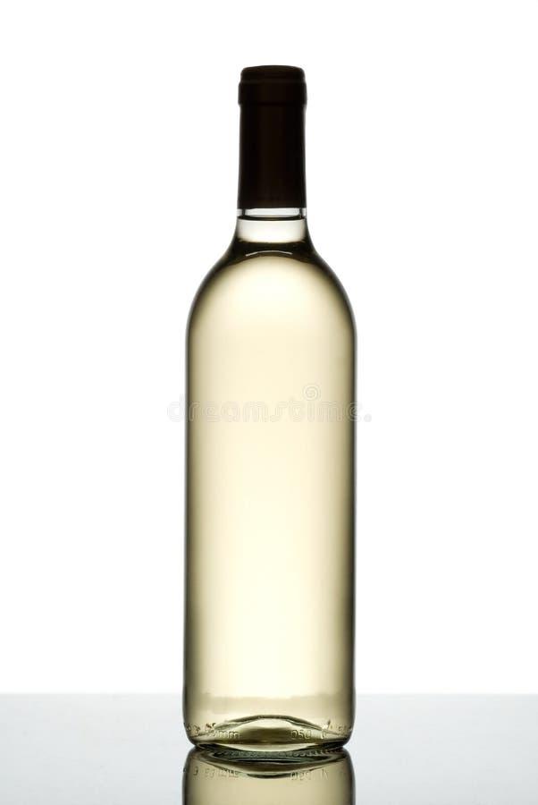 вино бутылки белое стоковые фото