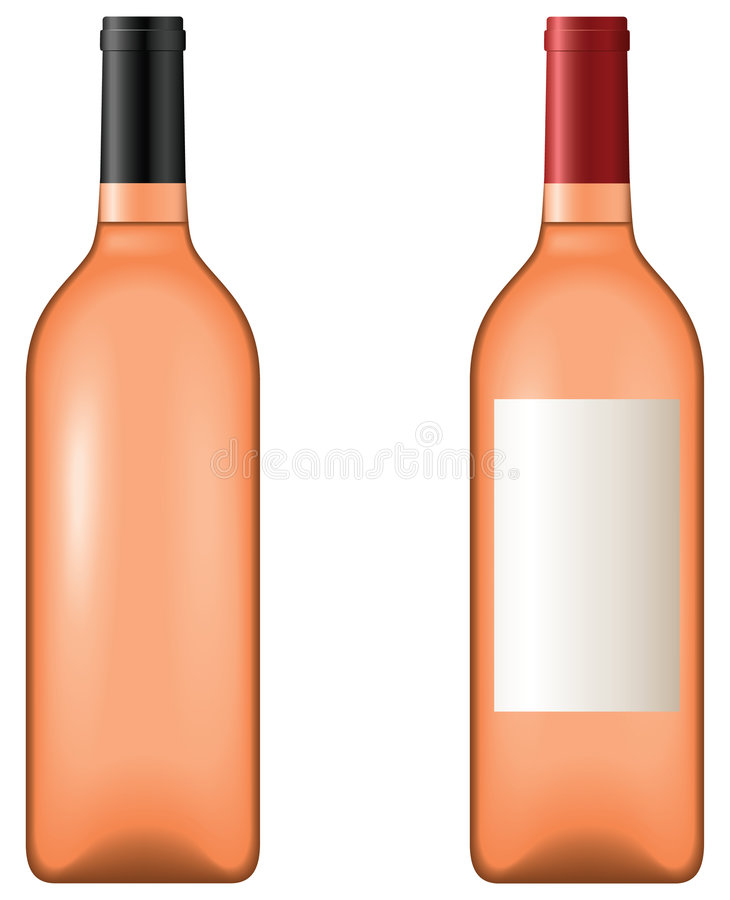 вино бутылки иллюстрация штока