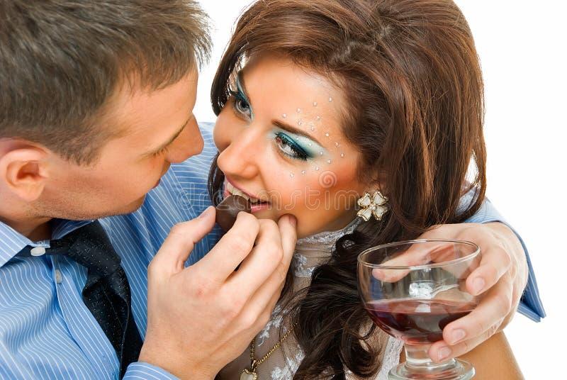 вино влюбленности стоковое фото rf