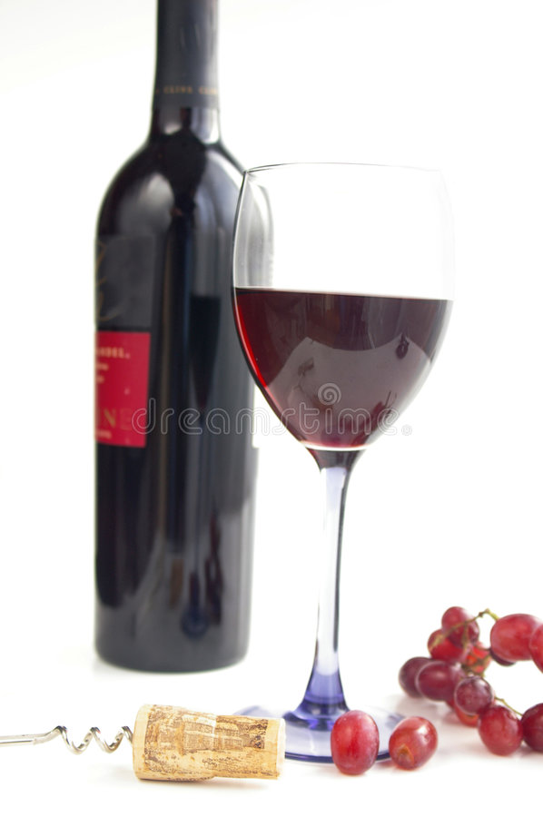вино времени стоковое фото