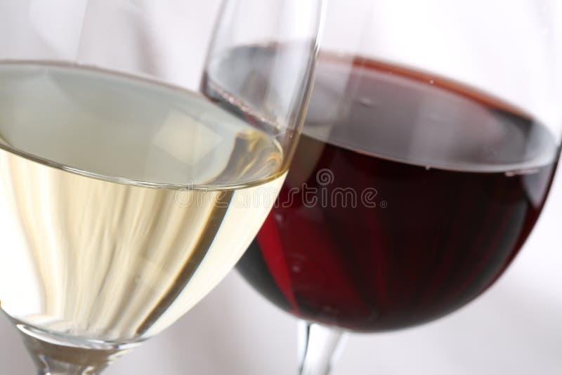 Вино в стеклах стоковое фото rf