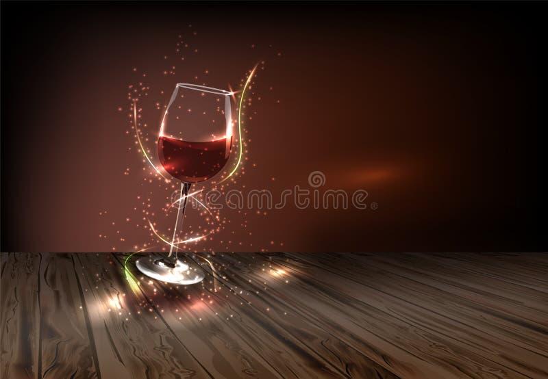 Вино для каждого случая иллюстрация штока
