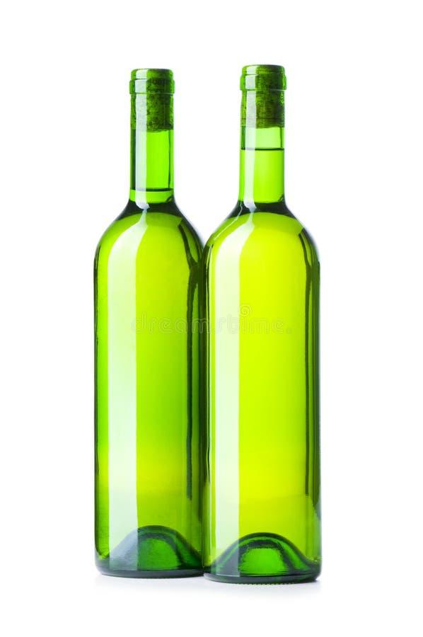 вино изолированное бутылками стоковое изображение rf