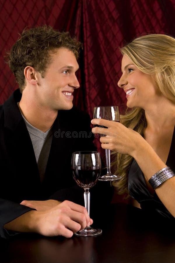 вино пар стоковые изображения rf