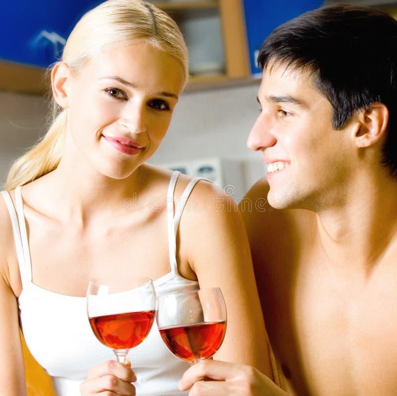 вино пар стоковое изображение