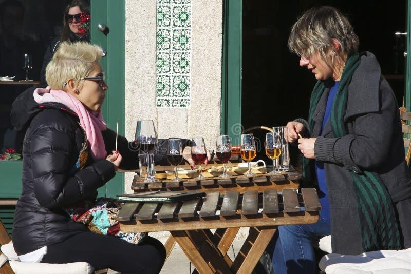Вино порта дегустации стоковые фото