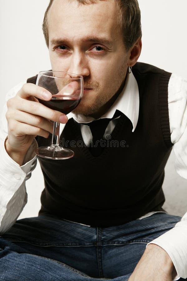 вино портрета стоковая фотография rf