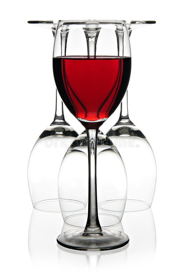 Download вино принципиальной схемы красное Стоковое Изображение - изображение насчитывающей добычи, красно: 18381119
