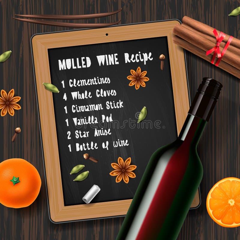 Вино рождества обдумыванное питьем стоковые фото