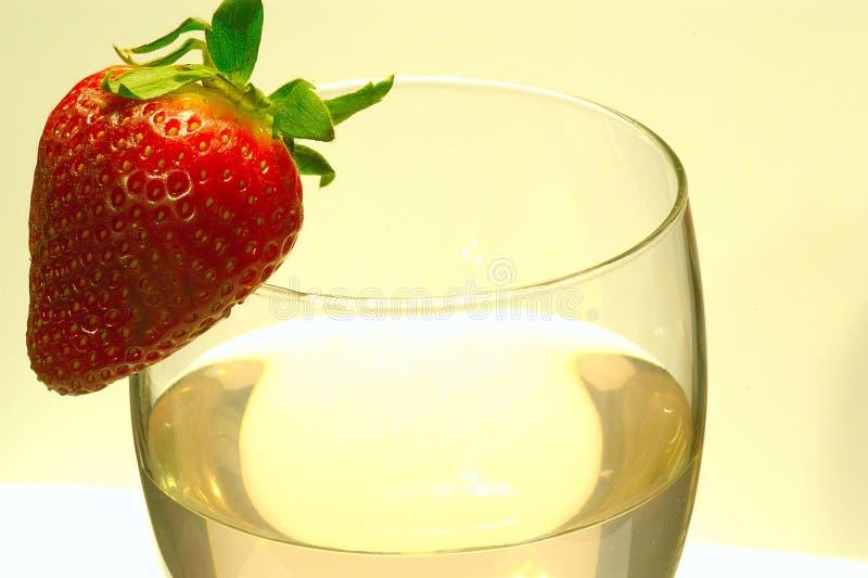 вино стекла как раз стоковое изображение