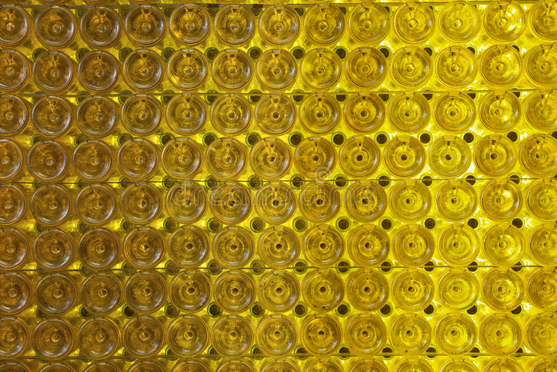 вино стены бутылки стоковая фотография