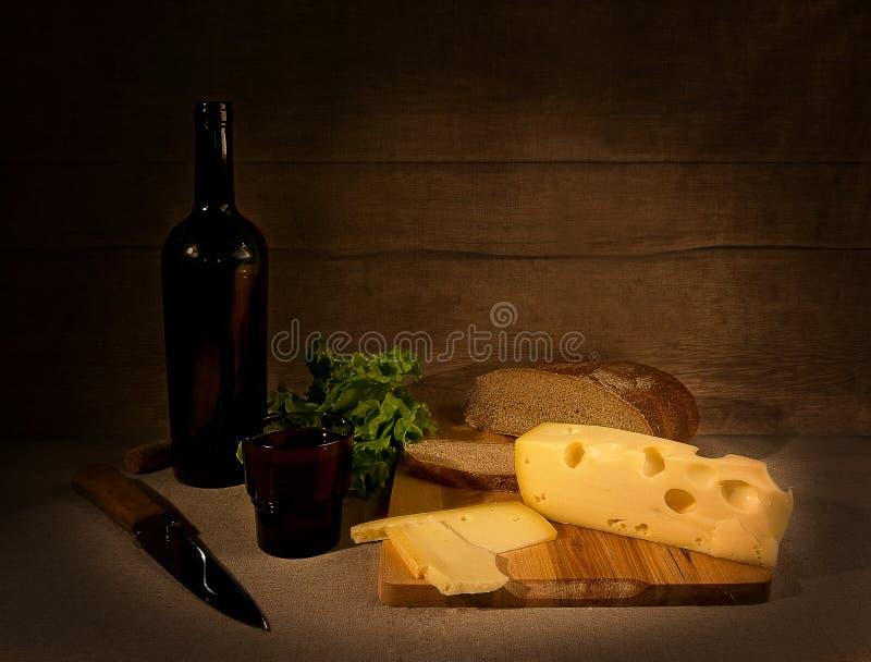 вино сыра стоковые фото
