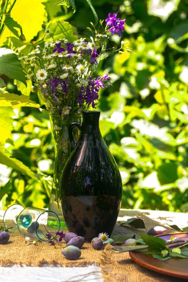 Вино сливы стоковые изображения