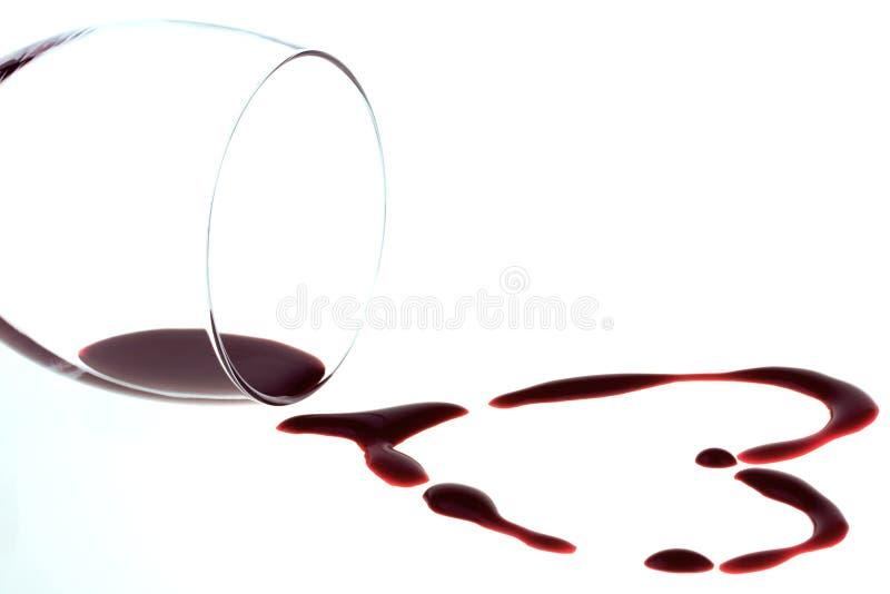 вино формы сердца красное стоковая фотография rf