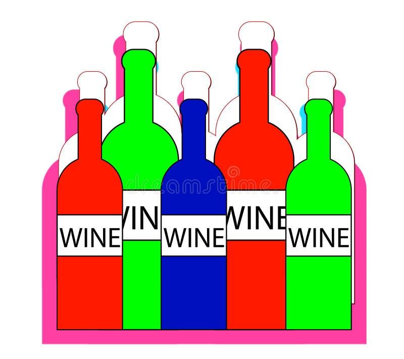 Вино 2 бесплатная иллюстрация