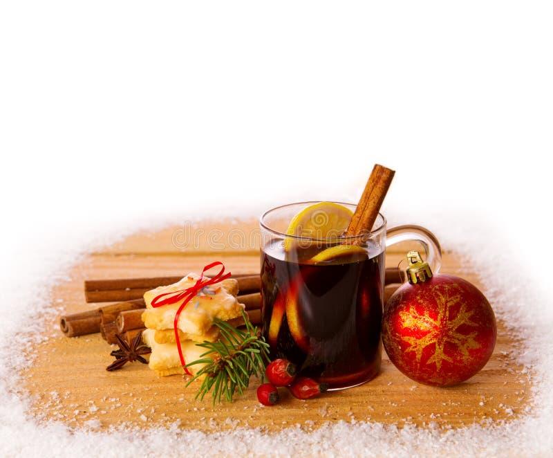 вино mulled рождеством стоковые фотографии rf