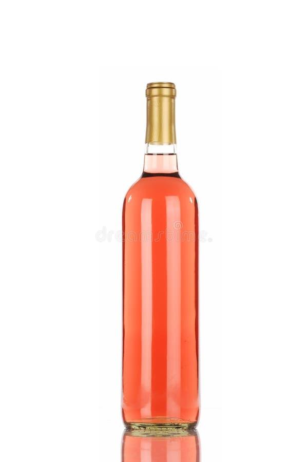 вино zinfandel бутылки белое стоковая фотография