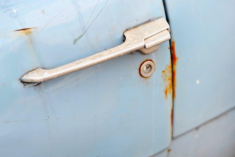 Винтажная автомобильная дверь стоковые изображения