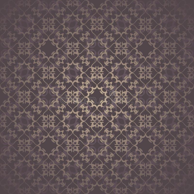 Download Винтажная безшовная предпосылка Иллюстрация вектора - иллюстрации насчитывающей художничества, ретро: 33736334