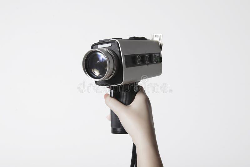 Винтажная видеокамера стоковое изображение rf