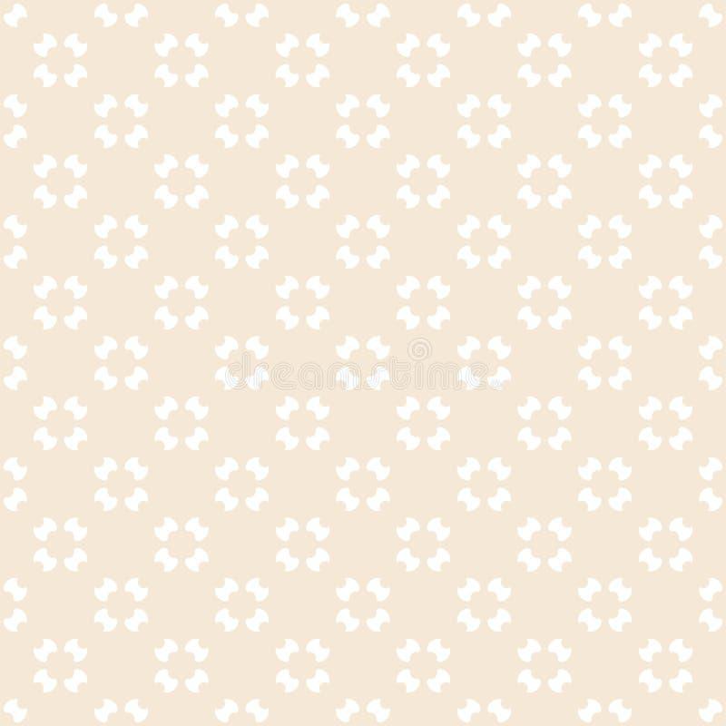 Винтажная геометрическая безшовная картина в мягких пастельных цветах тип предпосылки ретро иллюстрация штока