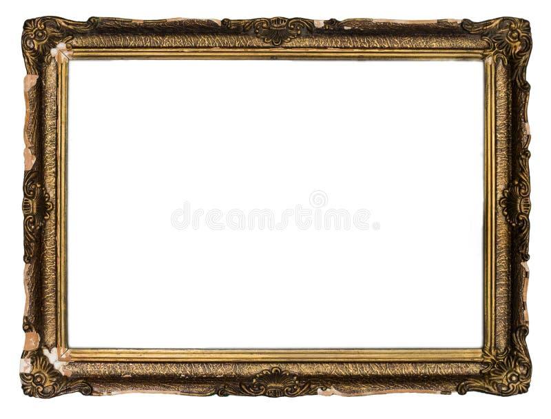 Винтажная деревянная рамка стоковое фото rf