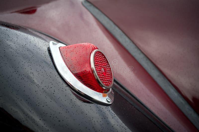 Винтажная деталь автомобиля стоковая фотография