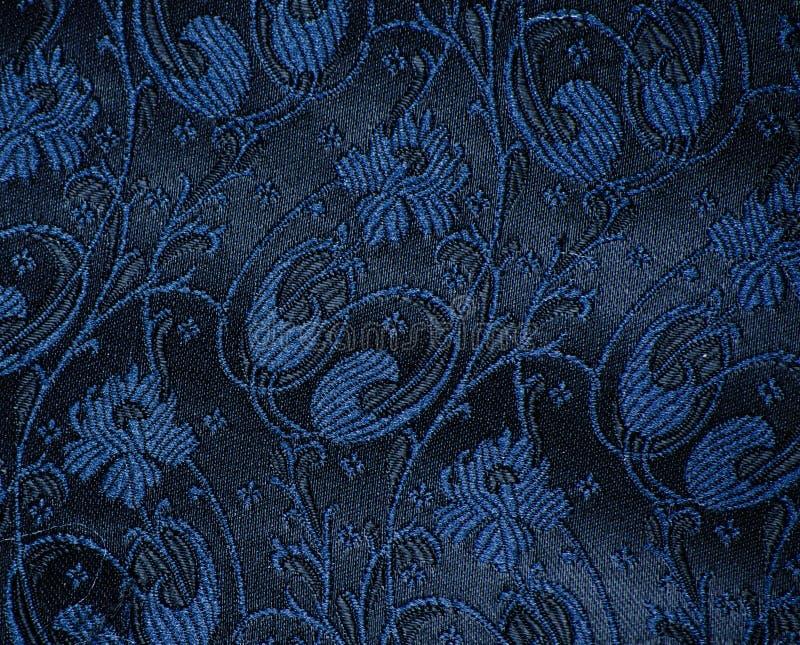 Винтажная деталь ткани парчи стоковые фотографии rf