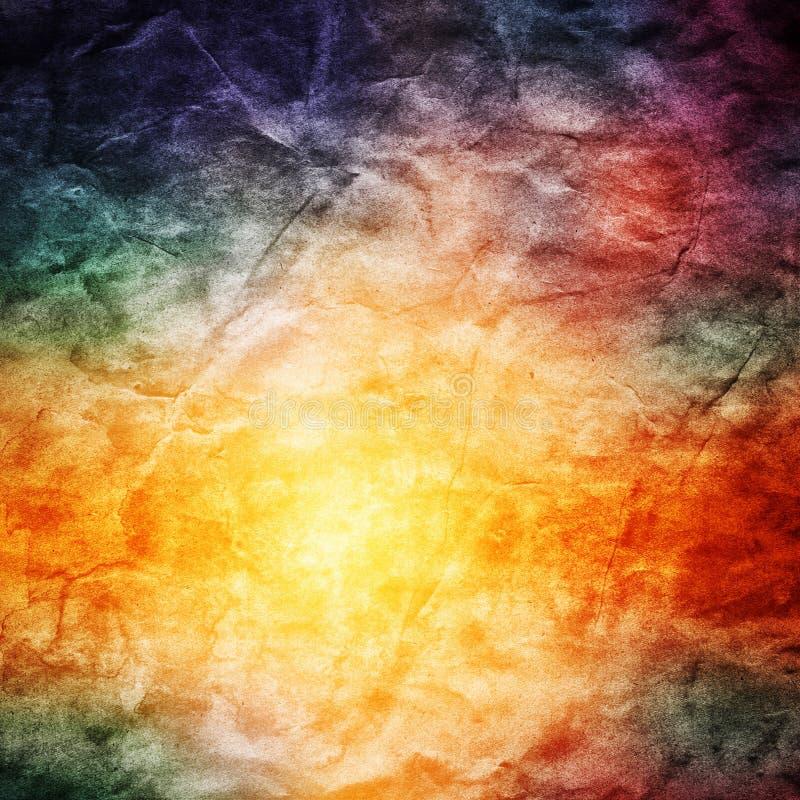 Винтажная красочная предпосылка природы Текстура Grunge ретро, hd стоковое фото rf