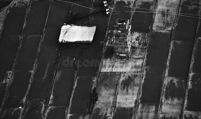 Винтажная крыша стоковая фотография rf