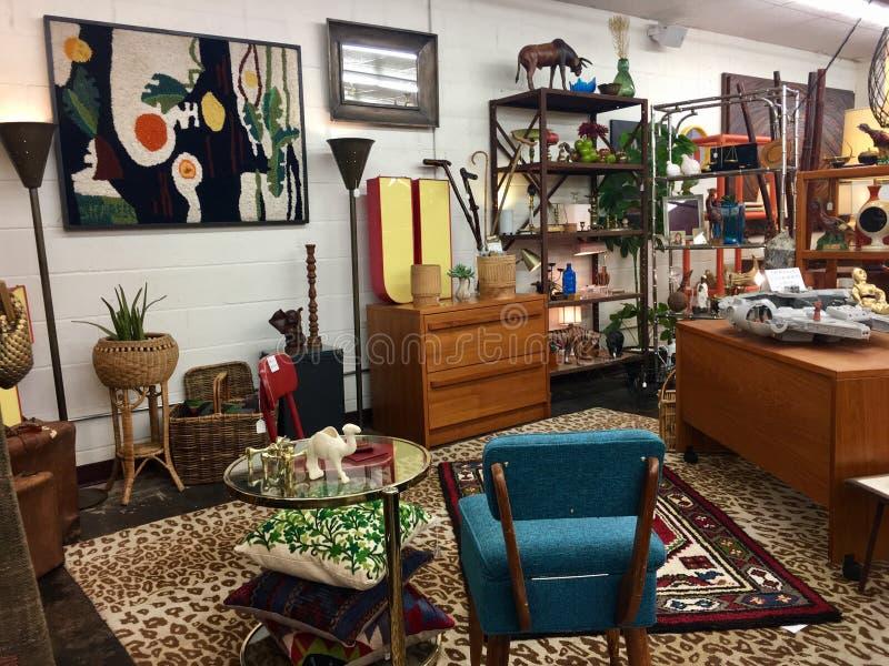 Винтажная мебель стоковые изображения rf