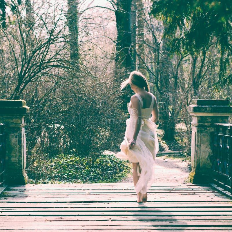 Винтажная невеста стоковые фотографии rf