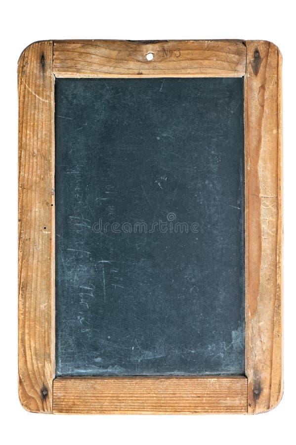 Винтажная доска при деревянная рамка изолированная на белизне стоковые изображения