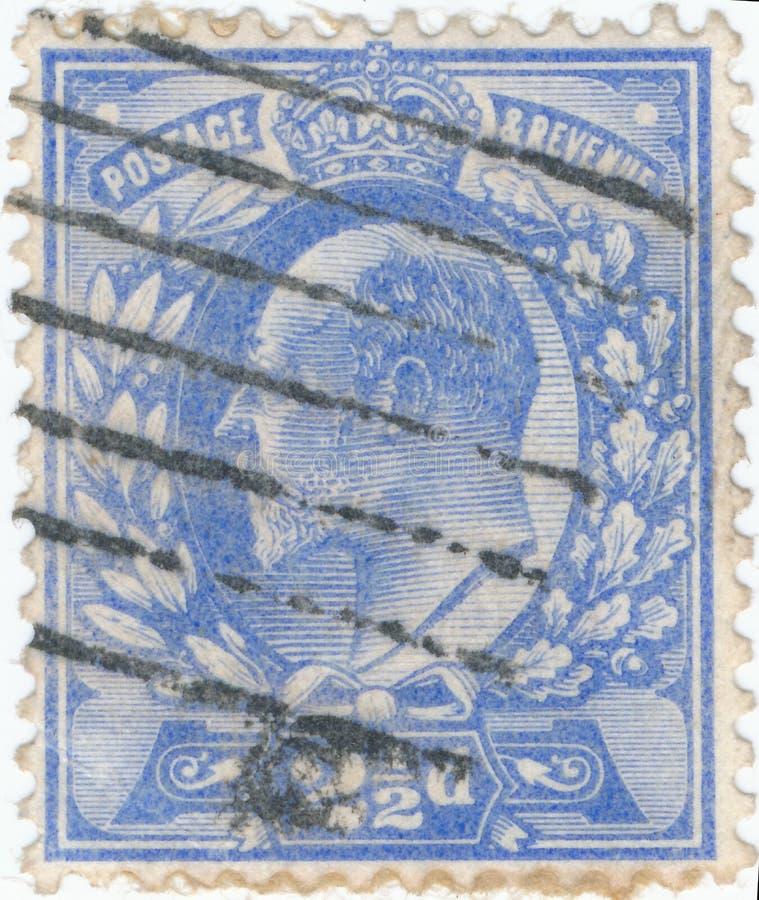 Винтажная печать напечатанная в Великобритании 1902 шоу, король Джордж v стоковые фотографии rf