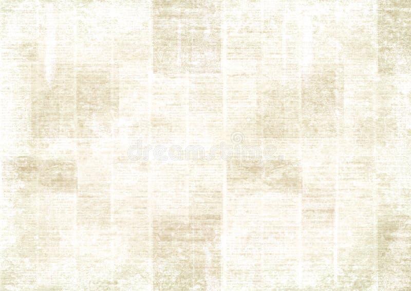 Винтажная предпосылка коллажа газеты grunge стоковая фотография