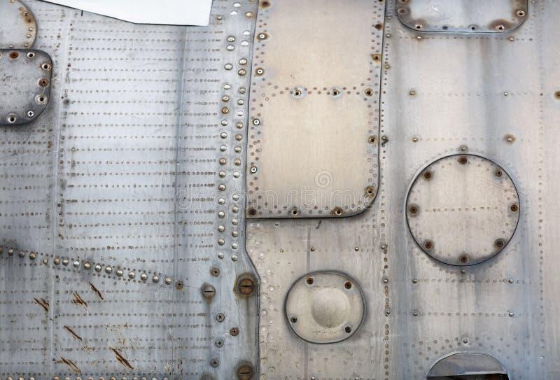 Винтажная предпосылка металла стоковое фото rf