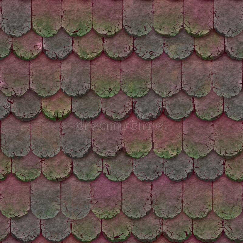Винтажная плитка глины стоковое фото