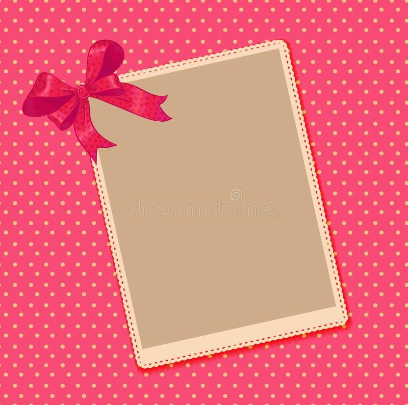 Винтажная рамка фото бесплатная иллюстрация