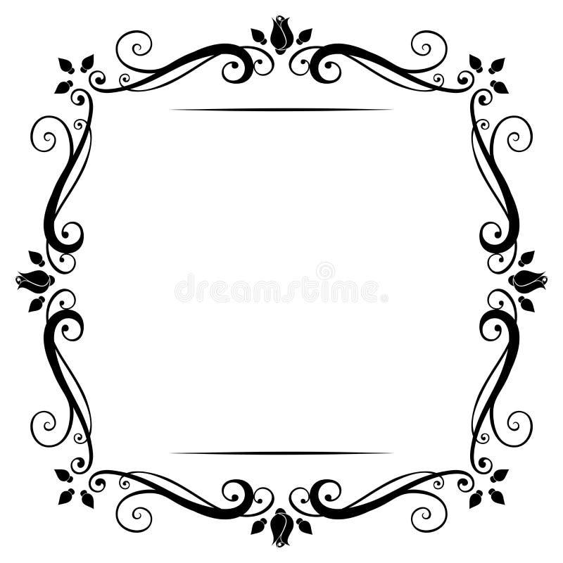 Винтажная рамка. бесплатная иллюстрация