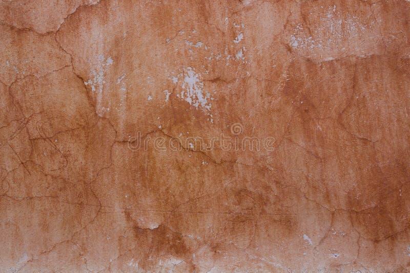 Винтажная старая поврежденная стена с царапинами стоковая фотография rf